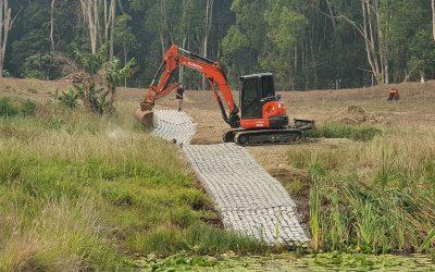 Farm Dam Spillway and Overflow at Meerschaum Vale NSW – 0100.D