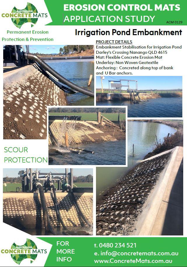 ACM App Study 20.0129 Irrigation Pond