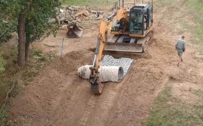 Farm Spoon Drain Repair at Dixons Creek VIC – 0182