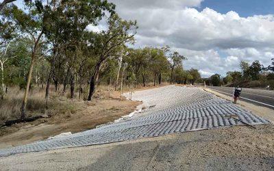 Highway Embankment Stabilisation – Calliope Q  0171