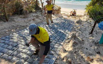 Beach Access at Clarkes Beach Byron Bay NSW – ACM 0230