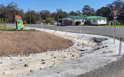 Village Stormwater Drain – Legume NSW – 0244